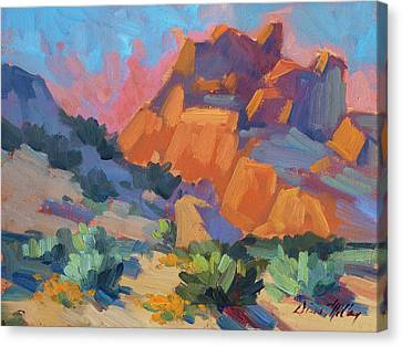 Joshua Afternoon Canvas Print by Diane McClary