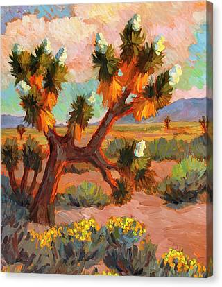 Joshua Tree Canvas Print by Diane McClary