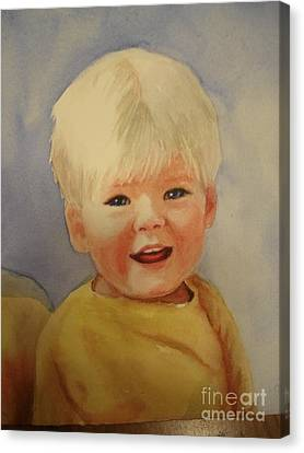 Joshua's Youngest Brother Canvas Print by Marilyn Jacobson