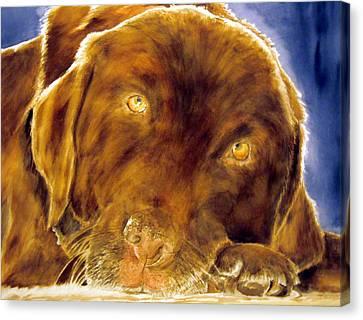 Josie Canvas Print by Susan Gauthier