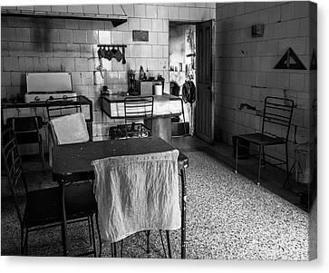 Canvas Print featuring the photograph Josie's Kitchen Havana Cuba by Joan Carroll