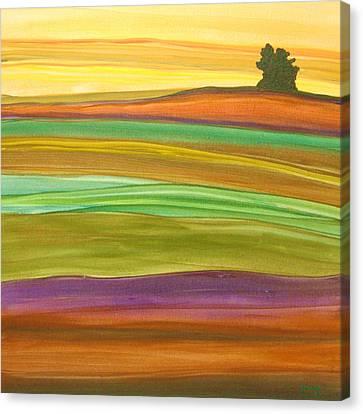 Journey Canvas Print by Amanda Schambon