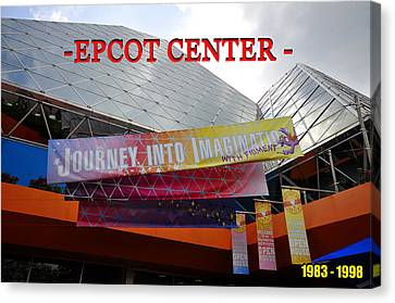 Figment Canvas Print - Journey Into Imagination by David Lee Thompson
