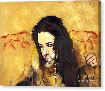 Journey Canvas Print by J W Baker