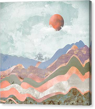 Journey To The Clouds Canvas Print by Katherine Smit