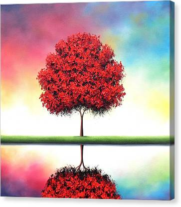 Journey Toward Tomorrow Canvas Print by Rachel Bingaman