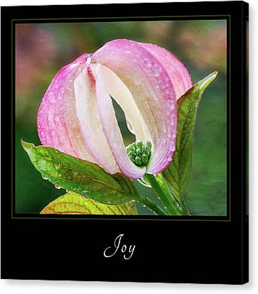 Canvas Print featuring the photograph Joy 3 by Mary Jo Allen