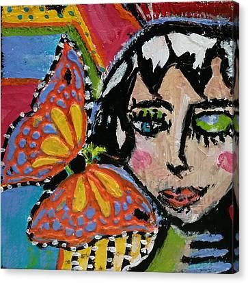 Joy - Vivid Vixen 10 Canvas Print