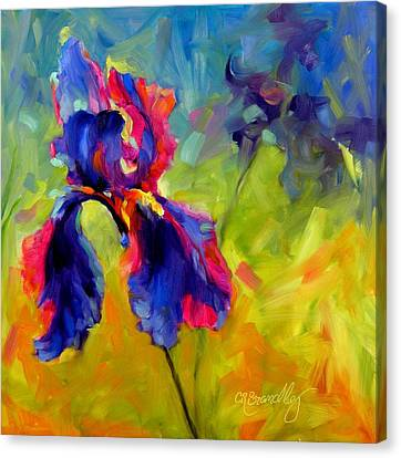 Joy In The Morning Canvas Print by Chris Brandley