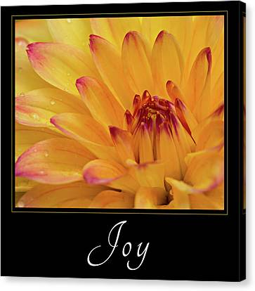 Canvas Print featuring the photograph Joy by Mary Jo Allen
