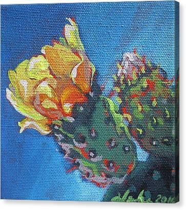 Joy Of Spring  Canvas Print by Aleksandra Buha