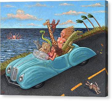 Joy Ride Canvas Print