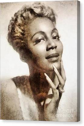 Bryant Canvas Print - Joyce Bryant, Vintage Singer And Actress by John Springfield
