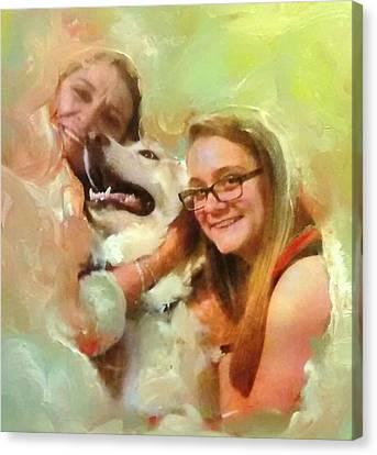 Joyful Afternoon Canvas Print by Patricia Taylor