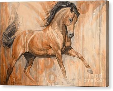 Joyful Bay Canvas Print by Silvana Gabudean Dobre