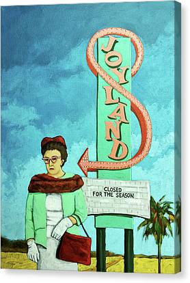 Canvas Print - Joyland by Linda Apple