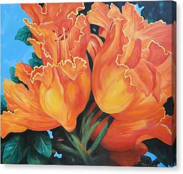 Joyous Celebration Canvas Print by Carol Reynolds