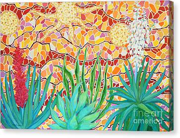 Southern Utah Canvas Print - Joyous Garden Wall by Sharon Nelson-Bianco