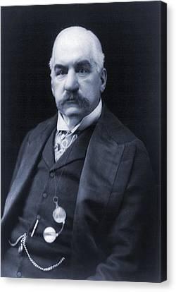 J.p. Morgan 1837-1913 American Banker Canvas Print by Everett