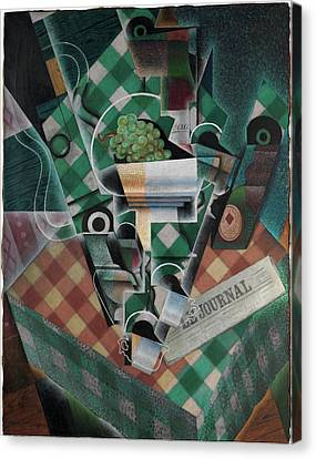 Juan Gris    Still Life With Checked Tablecloth Canvas Print