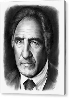 Judd Hirsch Canvas Print by Greg Joens