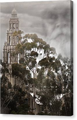 Judgment Day Canvas Print by Joseph G Holland