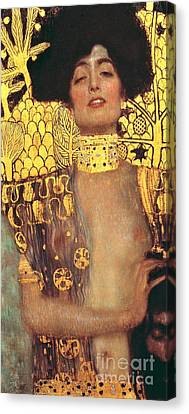Judith And Holofernes 1901 Canvas Print by Padre Art