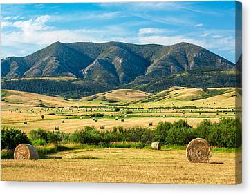 Judith Mountain Memories Canvas Print by Todd Klassy