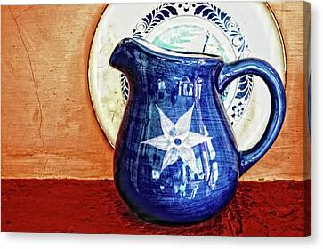Jug Canvas Print by Charuhas Images
