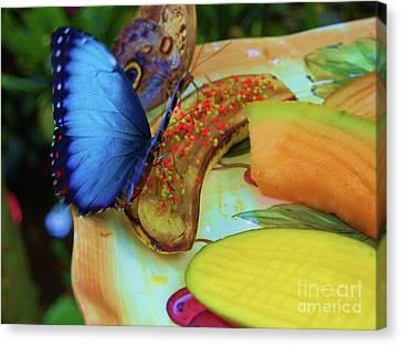 Juicy Fruit Canvas Print by Debbi Granruth