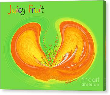 Juicy Fruit Canvas Print by Methune Hively