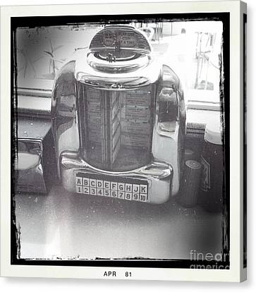 Juke Box Canvas Print by Nina Prommer