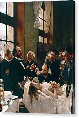 Jules Emile Pean (1830-1898) Canvas Print by Granger