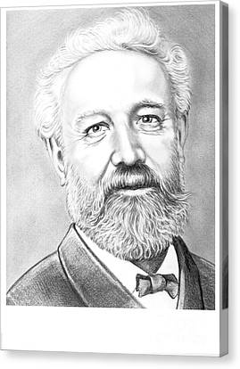 Jules Verne Canvas Print by Murphy Elliott