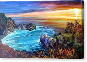 Julia Pfeiffer Beach Canvas Print