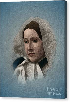 Abolitionist Canvas Print - Julia Ward Howe, American Abolitionist by Science Source
