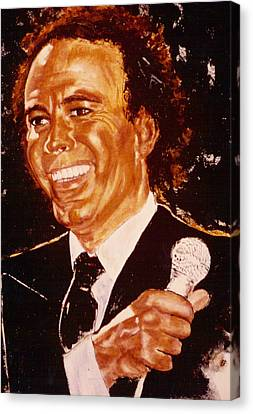 Julio Iglesias Canvas Print