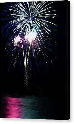 4th July Canvas Print - July Mist Burst by Chris LeBoutillier