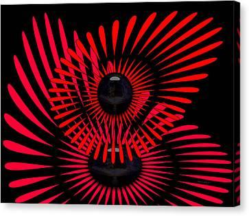 Canvas Print featuring the digital art July by Robert Orinski