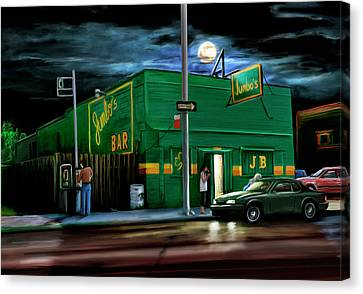 Jumbo's Bar Detroit Canvas Print