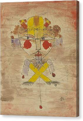 Jumping Jack Canvas Print by Paul Klee