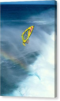 Salt Air Canvas Print - Jumping The Spray by Erik Aeder - Printscapes