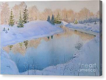 Junction Creek Canvas Print by Lynn Quinn
