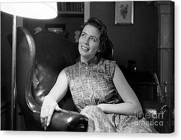 June Carter, 1956 Canvas Print by The Harrington Collection