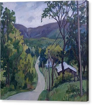 June Drizzle Berkshires Canvas Print