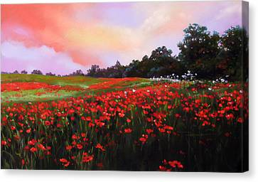 Canvas Print - June Poppies by Dianna Ponting
