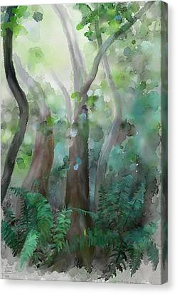 Jungle Canvas Print by Ivana Westin