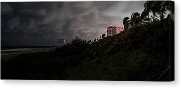 Canvas Print featuring the photograph Juno Beach by Laura Fasulo