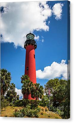 Jupiter Florida Lighthouse Canvas Print