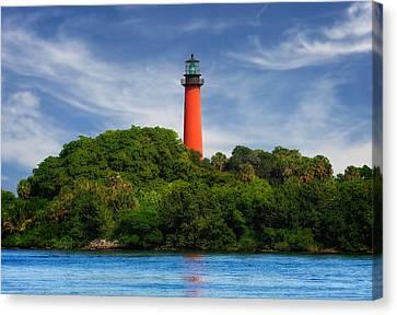 Jupiter Inlet Lighthouse - 1 Canvas Print